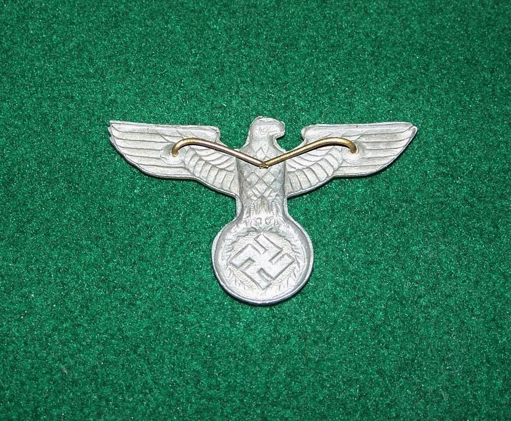 Ww2 German Police M43 Hat Badge: ORIGINAL WW2 GERMAN SA CAP BADGE INSIGNIA