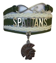 Michigan State Spartans Fan Shop Infinity Bracelet Jewelry - $12.99