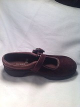 Merrell Brown Suede Ortholite Q Form Air Cushion Mary Jane Mules SZ 5.5M image 3