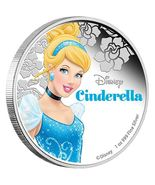 1 oz. Fine Silver Coin - Disney Princess - Cinderella (2015) - $155.00
