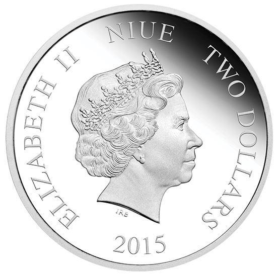 1 oz. Fine Silver Coin - Disney Princess - Cinderella (2015)
