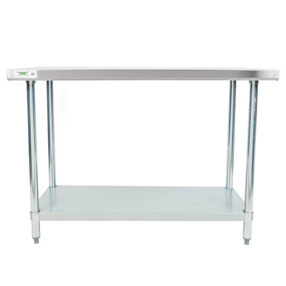 X Gauge Stainless Steel Table And Similar Items - Stainless steel table 18 x 24