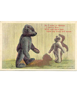 The Bonner Bear artist Fred Cavally vintage Pos... - $10.00