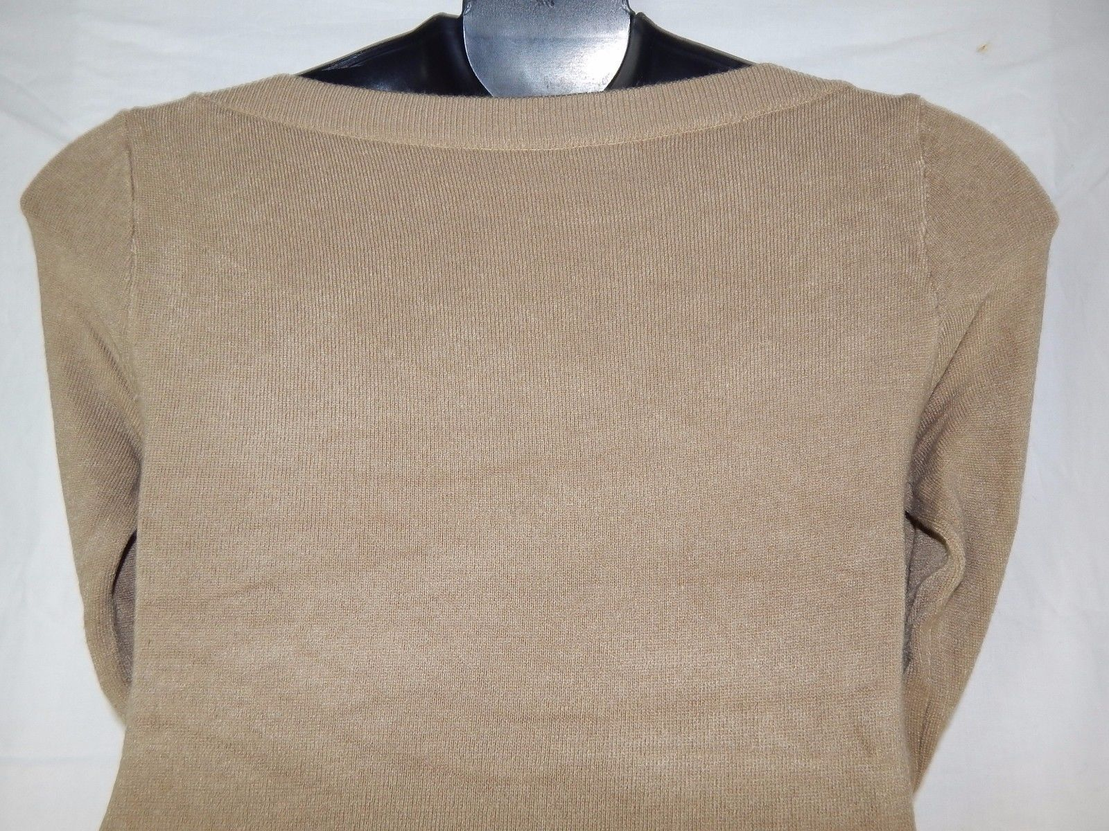 Wear Freedom Small Tan Beige Sweater Dress Long Sleeve