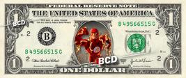 THE FLASH on REAL Dollar Bill Marvel Disney Cash Money Memorabilia Colle... - $6.66