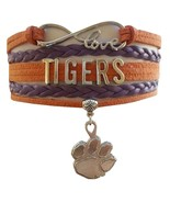 Clemson University Tigers Fan Shop Infinity Bracelet Jewelry - $12.99