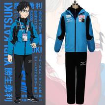Yuri!!! on Ice Katsuki Yuuri Sportswear Suit Outfit Cosplay Costume - $39.59+