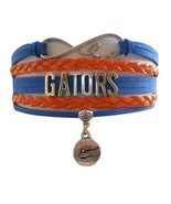 University of Florida Gators Fan Shop Infinity Bracelet Jewelry - $12.99
