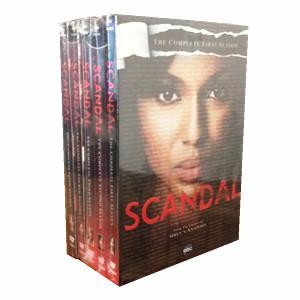 Scandal The Complete Seasons 1-5 1,2,3,4,5 DVD Box Set 21 Disc Free Shipping