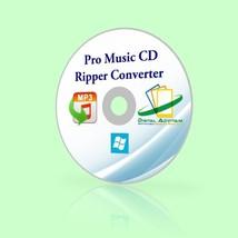 MUSIC CD ripper rip ripping converter convert SOFTWARE WAV TO MP3 OGG AA... - $9.79