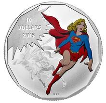 $10 1/2 oz Fine Silver Coin - DC Comics Supergirl Unity (2015) - $85.00