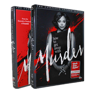 How to Get Away with Murder Seasons 1-2 1,2 DVD 8 Dsic Box Set Free Shipping New