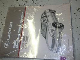 2000 Lexus GS300 GS400 400 Electrical Wiring Diagram Service Shop Manual OEM EWD - $137.61