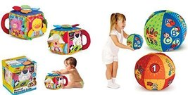 2 in 1 Talking Ball and Musical Farmyard Cube 6 Month + Soft Baby and Toddler... - $40.34
