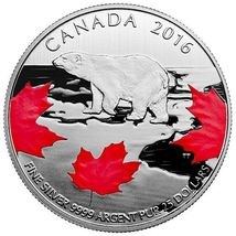$25 Fine Silver Coin – True North (2016) - $33.00
