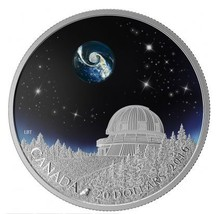 $20 Fine Silver Coin - The Universe Borosilicate Glass Glow In The Dark ... - $180.00