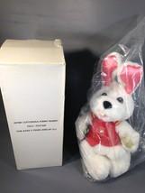 Avon Talking Peter Cottontail Funny Bunny New Adventures 2002 NIB White ... - $29.99