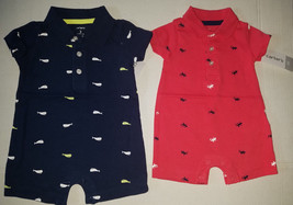Carter's Playwear Toddler  Boys One  Piece  Set  Size NB 3M  NWT Red or ... - $9.99