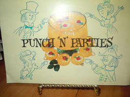 Vintage Punch N' Parties Recipe Booklet 1962 Seven UP Company - $8.99