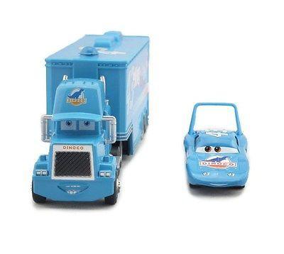 Disney Pixar Cars Diecast No.43 The King Hauler Mack Cars Plastic Truck Kids Toy image 2