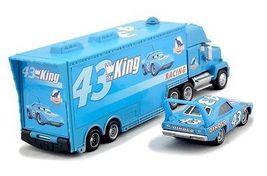 Disney Pixar Cars Diecast No.43 The King Hauler Mack Cars Plastic Truck Kids Toy image 3