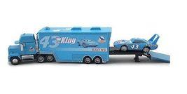 Disney Pixar Cars Diecast No.43 The King Hauler Mack Cars Plastic Truck Kids Toy image 5