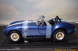 ~ 1966 Shelby Cobra 427 S/C  roadster - 1:18 diecast  Greenlight  - MIB - $34.95