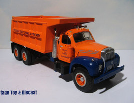 ~ 1960 Mack B Series Dump Truck - Tollway Tunnel Authority- First Gear d... - $29.95