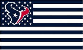 Houston Texans Football Stars Stripes Banner Flag 3'x5' - GO TEXANS!!!  - $16.99