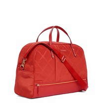 Vera Bradley Luggage Women's Preppy Poly Travel Bag Tango Red Duffel Bag... - $129.99