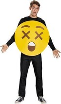 Emoticon Emoji X-Ray Eyes Costume Yellow Adult Halloween Unique Funny DG... - €42,51 EUR