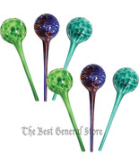 "6 Piece House Plant Watering Globe Set 12"" long... - $36.98"