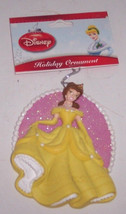 Disney Princess Belle Ornament Beauty Beast Golden Yellow Dress Christmas   - $24.95