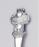 Collector souvenir spoon switzerland lucerne bucherer rolex dying lion monument  1  thumbtall