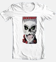 Jack Frost T-shirt Christmas Santa horror slasher movie 100% cotton white tee image 2