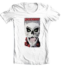 Jack Frost T-shirt Christmas Santa horror slasher movie 100% cotton white tee image 3