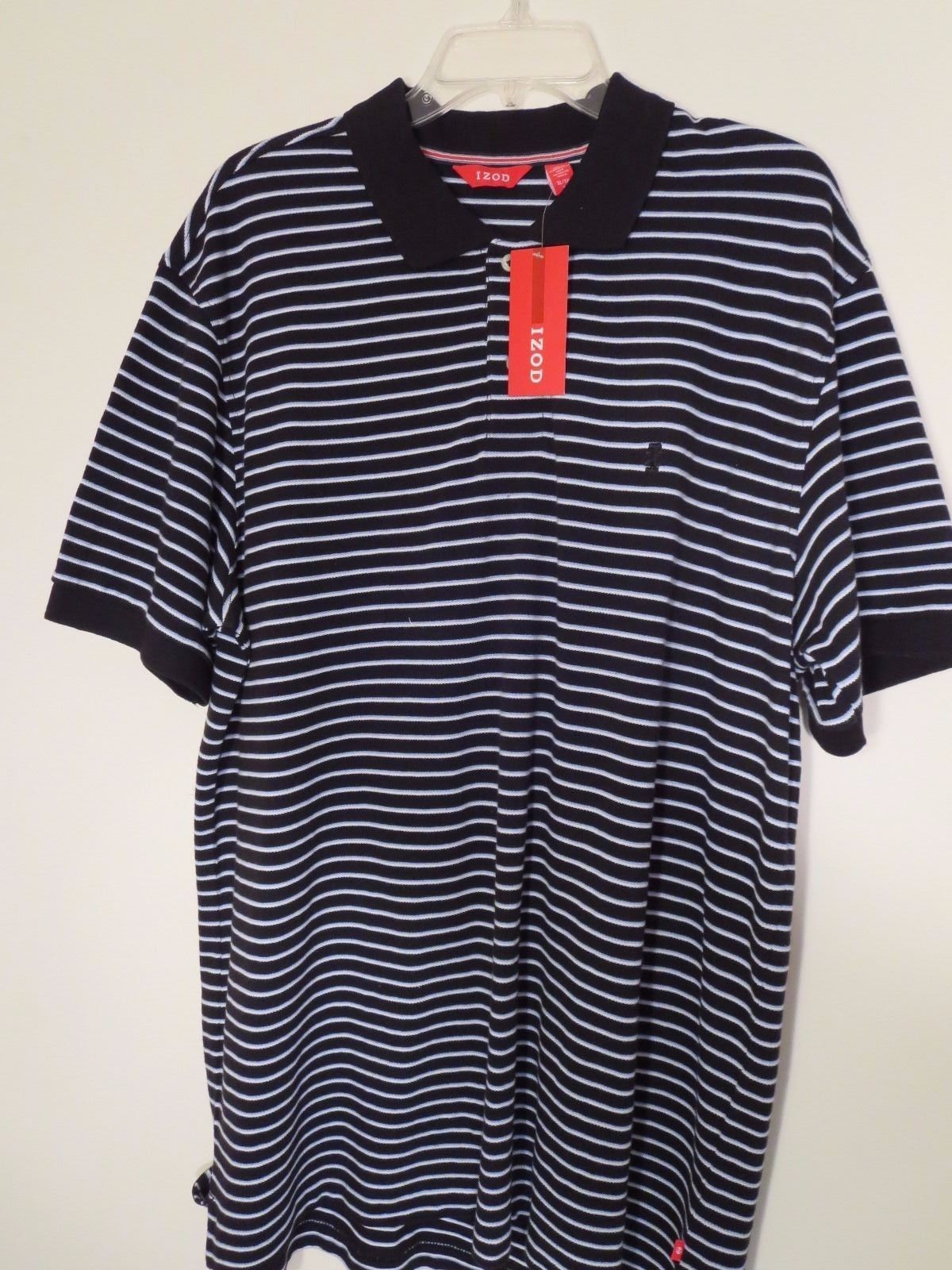 c83ff7ee Izod Men's Size L Striped S/S Polo Shirt and 50 similar items. S l1600