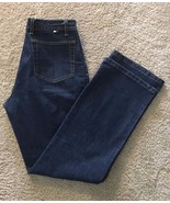 Tommy Hilfiger TOMMY JEANS Dark Wash Boot Cut Women's Size 9  32 x 30 - $17.72