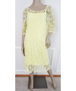 Nwt Lauren Ralph Lauren Crocheted Lace Cocktail Sheath Dress Sz l Large ... - $79.15