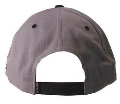 Gold Wheels Skateboarding Silver Grey Black Classic Logo Snapback Baseball Hat image 4