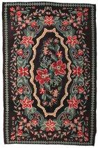 "Rose Kelim Moldavia rug 5'x7'7"" (152x230 cm) Or... - $1,641.00"