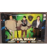 Star Wars Luke Skywalker Princess Leia & Han Solo 12 inch Figures New In... - $64.99
