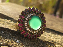 Haunted ring Mirror Mirror djinn of PURE BEAUTY AND POWER - $162.50