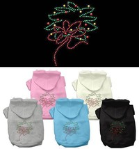 CHRISTMAS WREATH Dog Hoodie Sweatshirt * Rhinestone Puppy Love Pet Sweat... - €14,05 EUR+