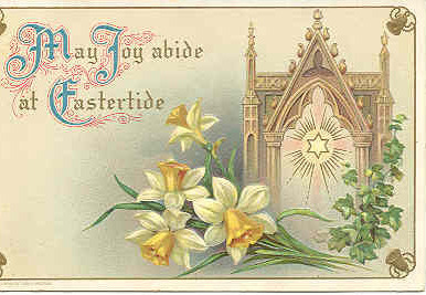 Easter Greeting 1913 Vintage Post Card