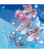 Hot Popular Kids Girls Summer Dress Up Casual High Heels Sandals Princes... - $20.37+