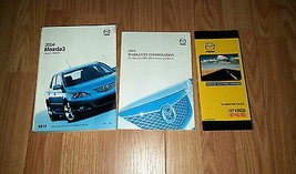 2004 Mazda 3 Owners Manual 04135 - $18.76
