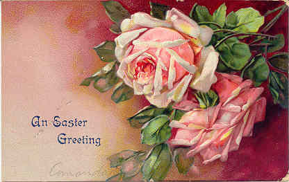 Easter Greeting From Lopez Penna 1908 Vintage Post Card