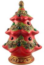 Vintage Napco ceramic lighted Christmas tree fi... - $38.00