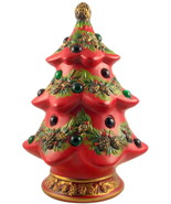 Vintage Napco ceramic lighted Christmas tree fi... - $38.00